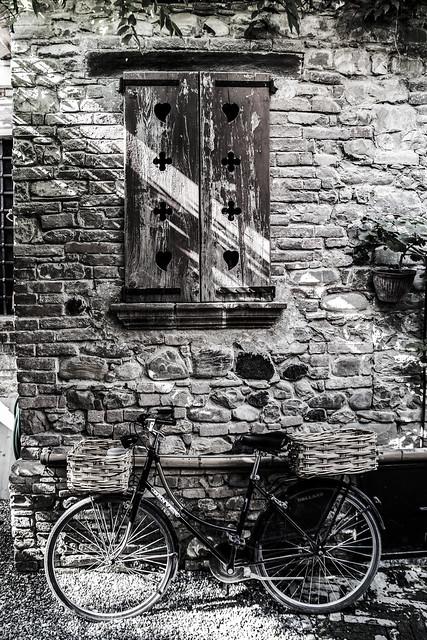 La bicicletta del giardino segreto