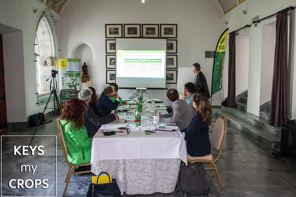 Kickoff Meeting - KEYS My CROPS - Beja Portugal - 26 & 27.02.2018