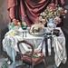 'Simple pleasures, Oil on board, 96x117cm