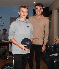 Junior Presentation Evening hard ball awards