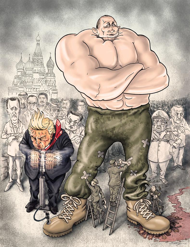 Putin Pumpers And Potus A Parade Of Putrid Putin Pumpers P