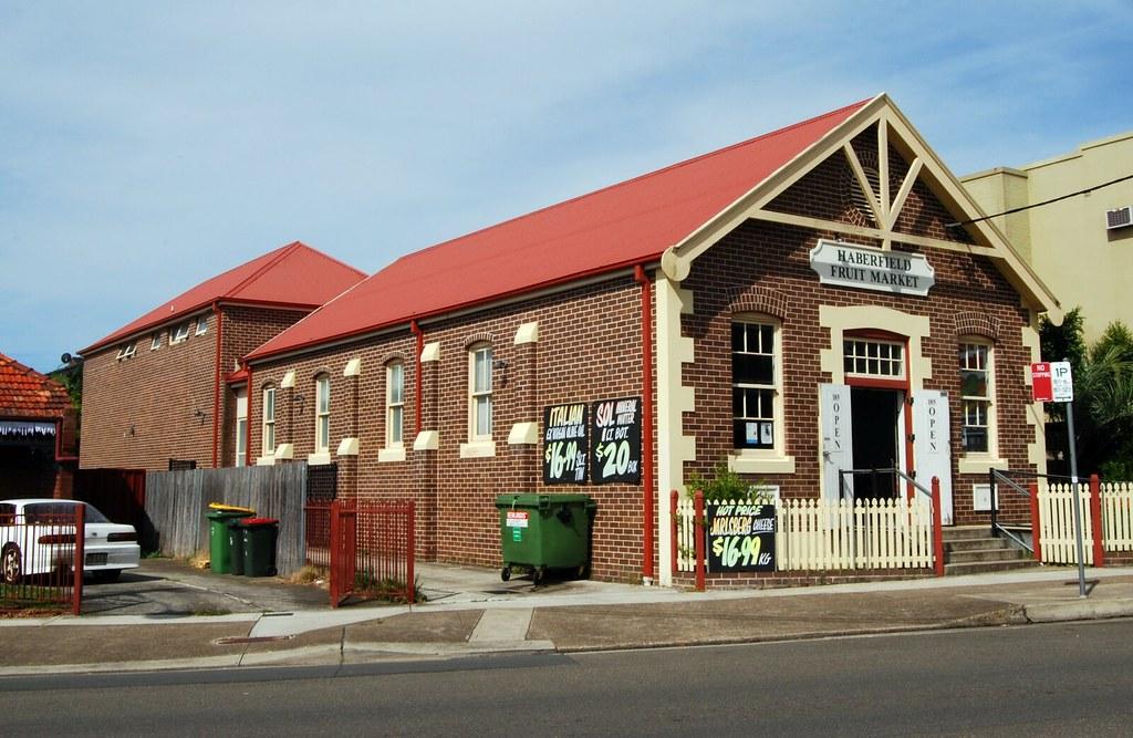 Haberfield Fruit Market, Haberfield, Sydney, NSW.
