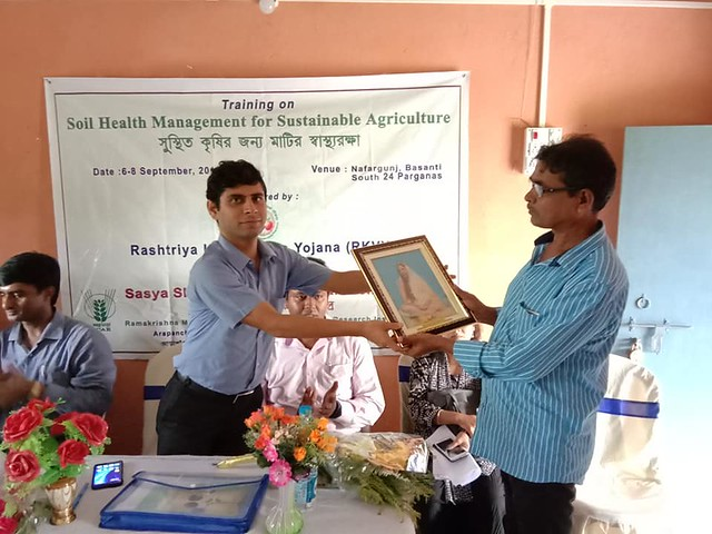 RKVY sponsored 3 days hands on training on Soil Health Management organized by SSKVK