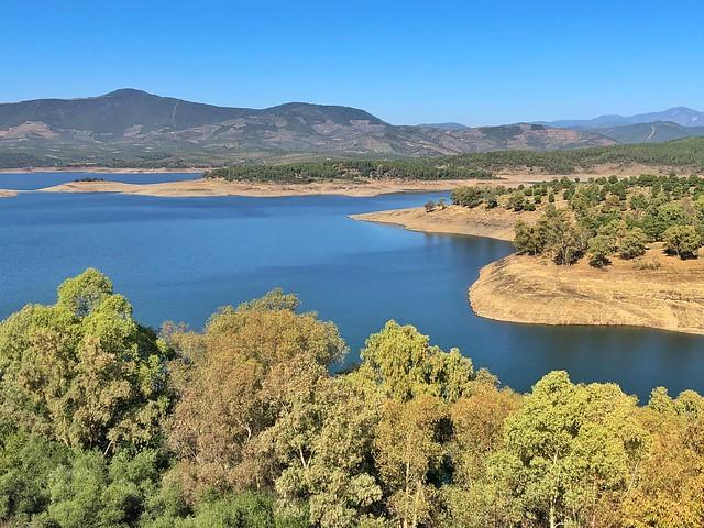 Embalse Gabriel y Galán (Tierras de Granadilla, Cáceres)