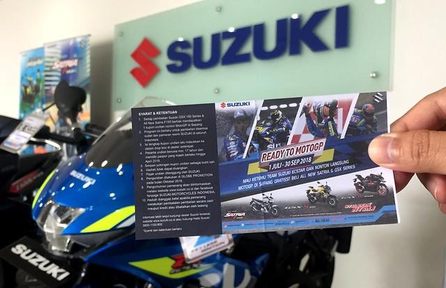 Ilustrasi Suzuki Ready To MotoGP
