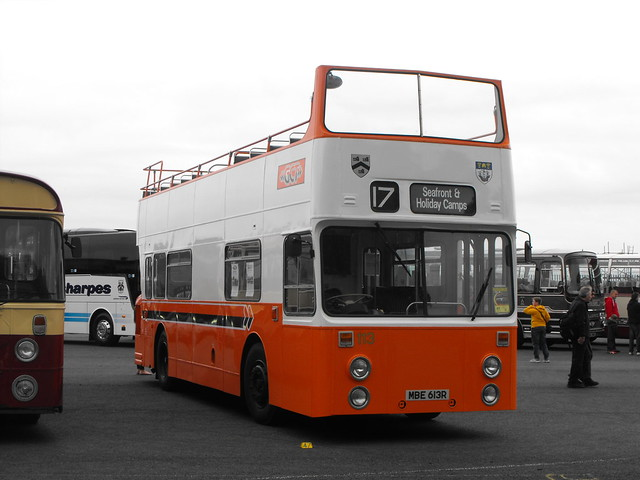 113, MBE 613R, Daimler Fleetline @ Showbus 2018 (2)