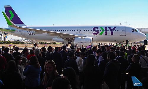 SKY A320neo presentación (Luis Colima)