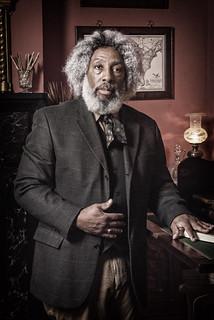 Sat, 01/09/2016 - 14:44 - A photograph of Nathan Richardson as Fredrick Douglass