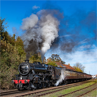 Black 5 Leaving Whitby | by Mister Oy