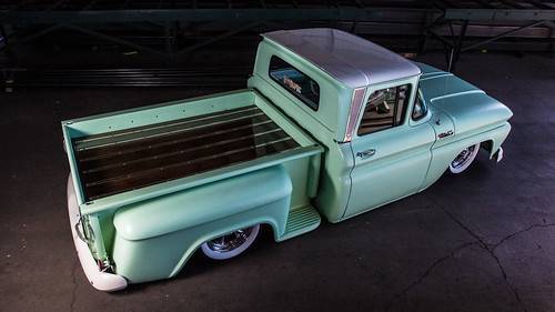 Heath's bagged 1962 Chevy C10 pickup | by Jakeb Miller Photography