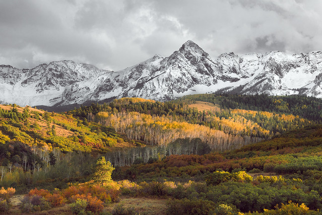 Autumn at Rocky Mountains
