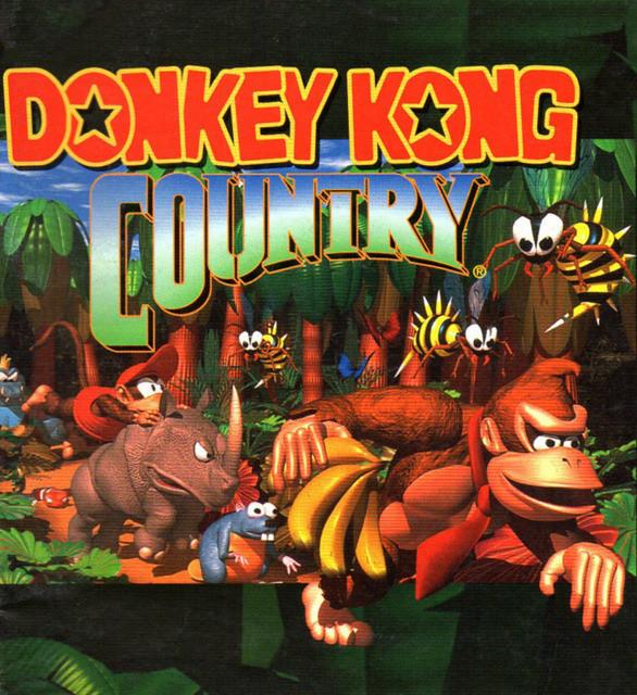 DK Country box art