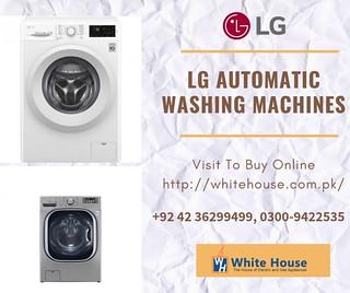 LG Automatic washing machines