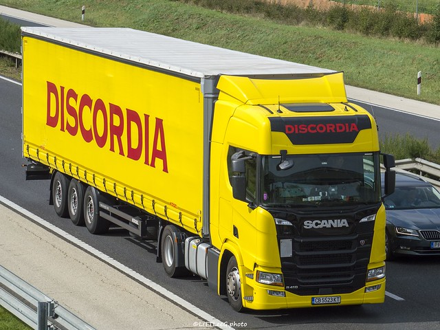 Scania R410 NG Highline Discordia (BG)