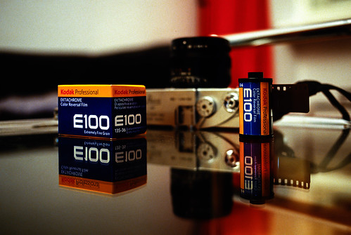 New Ektachrome bought today homemade E6 shot with Leica R4