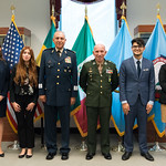 Ju, 09/20/2018 - 13:40 - On Thursday, September 20, 2018, the William J. Perry Center for Hemispheric Defense Studies honored General Salvador Cienfuegos Zepeda, Secretary of National Defense of Mexico, and Escola Superior de Guerra (ESG), National War College of Brazil, with the 2018 William J. Perry Award for Excellence in Security and Defense Education. Named after the Center's founder, former U.S. Secretary of Defense Dr. William J. Perry, the Perry Award is presented annually to individuals who and institutions that have made significant contributions in the fields of security and defense education. From the many nominations received, awardees are selected for achievements in promoting education, research, and knowledge-sharing in defense and security issues in the Western Hemisphere. Awardees' contributions to their respective fields further democratic security and defense in the Americas and, in so doing, embody the highest ideals of the Center and the values embodied by the Perry Award.