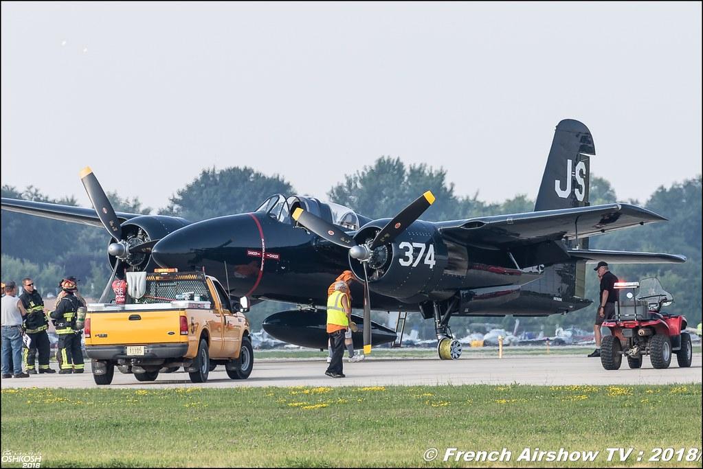 F7F Tigercat NX7629C NX379AK EAA Oshkosh 2018