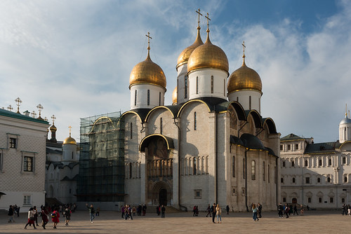 Assumption Cathedral, Moscow Kremlin | by justinwyllie