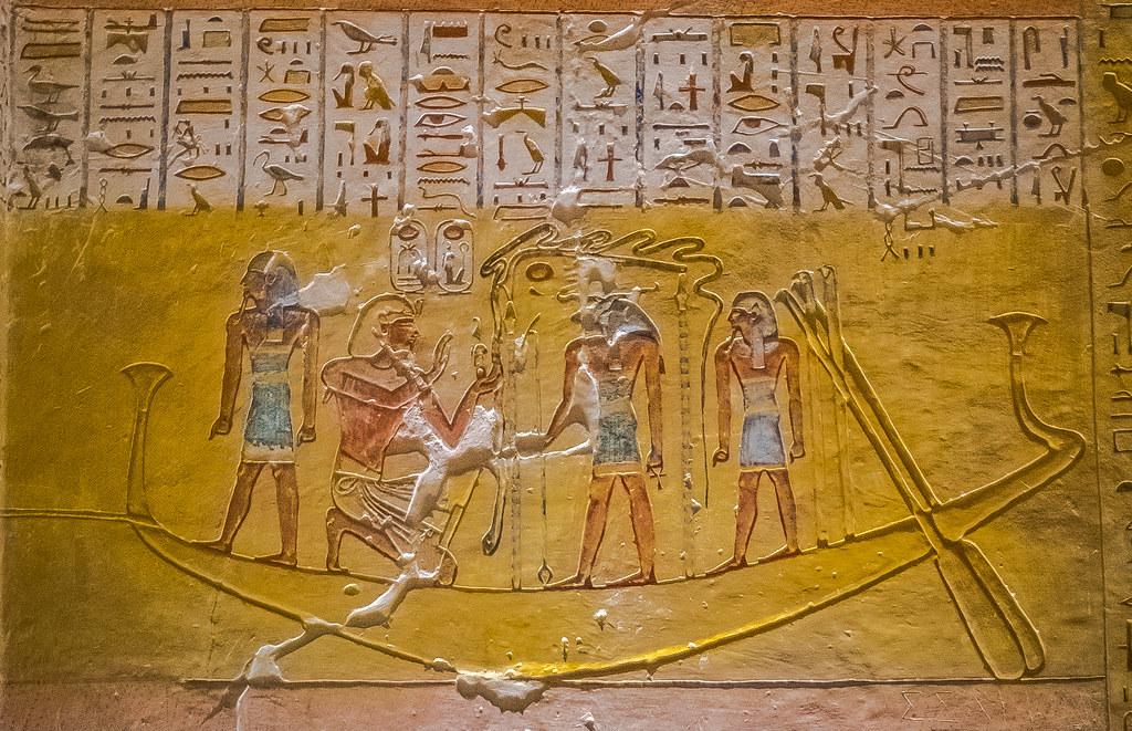 Долина царей. Египет. Древнее захоронение . Egypt DSC_0112-3