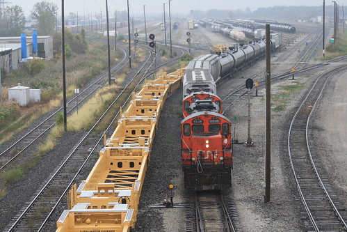CN Sarnia Yard Job with GP9RM | by tcamp7837