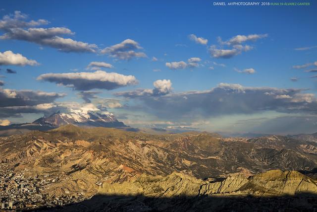 Dorsal del Illimani La Paz