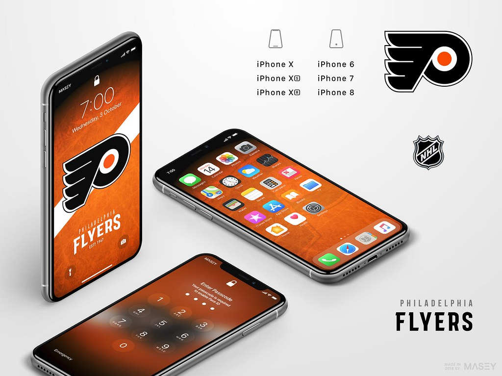 Philadelphia Flyers iPhone Wallpaper