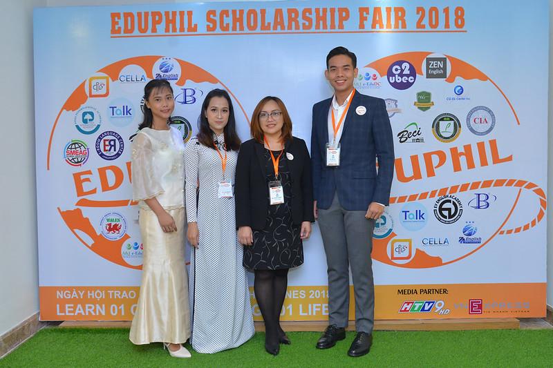 Trường PINES tại EDUPHIL FAIR 2018
