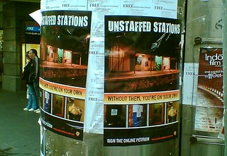 RTBU campaign for station staff, October 2008 | by Daniel Bowen