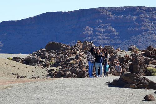 Selfies in Teide National Park, Tenerife | by Snapjacs