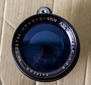 Oray-Higon Auto Tele  135mm 1:2..8 | by The lens profile