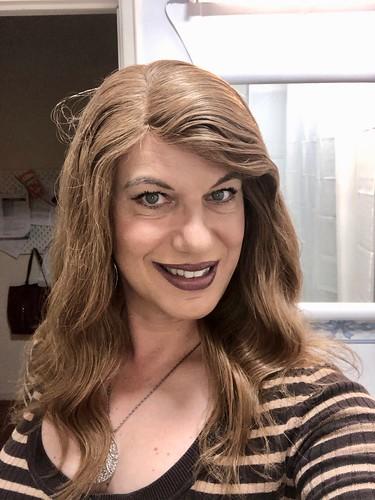 Obligatory selfie in the bathroom   by Sandra M. Lopes