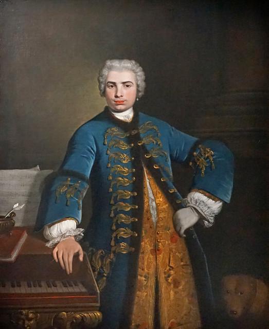 Portrait de Farinelli par Bartolomeo Nazari (Grand Palais, Paris)