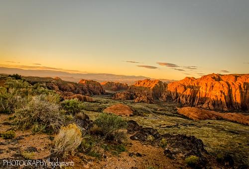 saintgeorge utah unitedstates us snowcanyon canyons sunrise