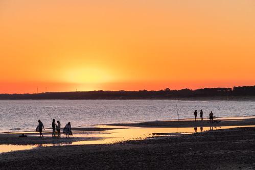 lasflores maldonado uruguay atardecer balneario beach gente people playa sunset travel outdors dusk nature sea ocean picoftheday