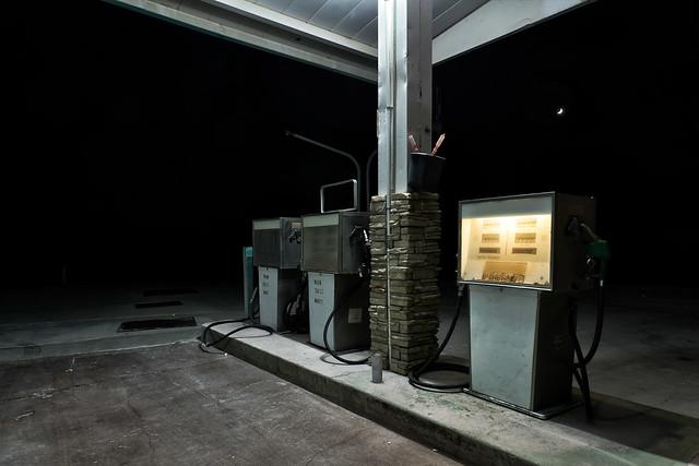 self service diesel. amargosa valley, nv. 2018.