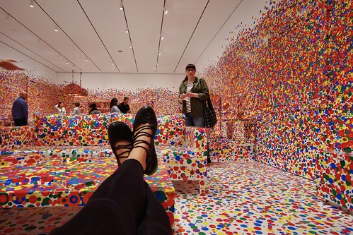 Yayoi Kusama at the Cleveland Art Museum | by Petie_in_Cbus