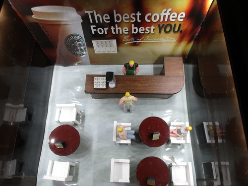 O Scale Starbucks from Menards | by IFHP97