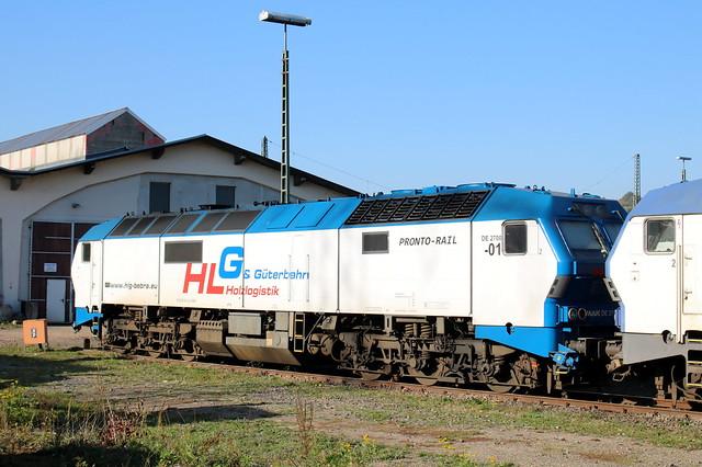 HLG: MaK DE 2700-01 in Bebra U
