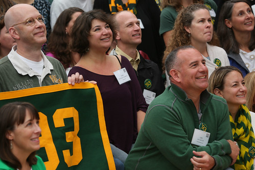 The Class of '93 was well-represented at W&M's Homecoming football game. | by William & Mary Photos
