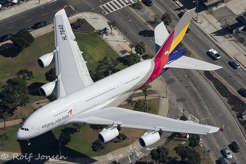 HL7640 Airbus A380 Asiana airlines Los Angeles airport KLAX 14.09-18 | by rjonsen
