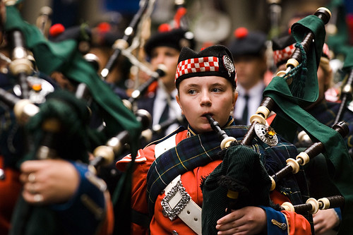 Anzac Day 2007: Young Piper | by sidkid