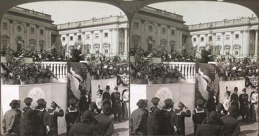 Teddy Roosevelt Inaugural Speech, 1905 (parallel)