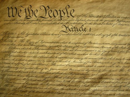 US Constitution | by Jonathan Thorne CC