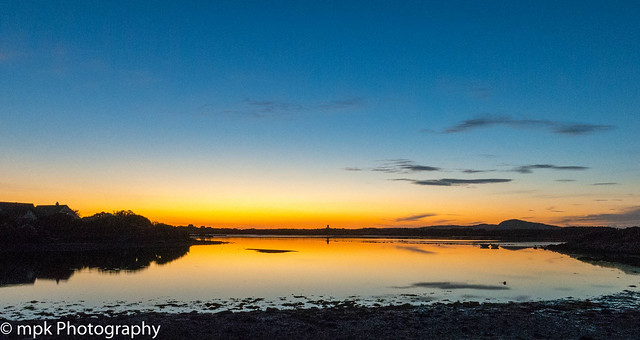Sunset: Four Mile Bridge, Anglesey