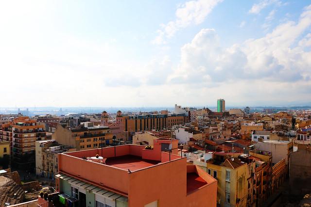 Spain roof tops