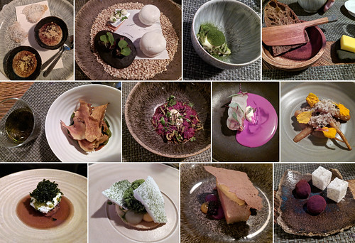 Bulrush tasting menu | by Nose in a book