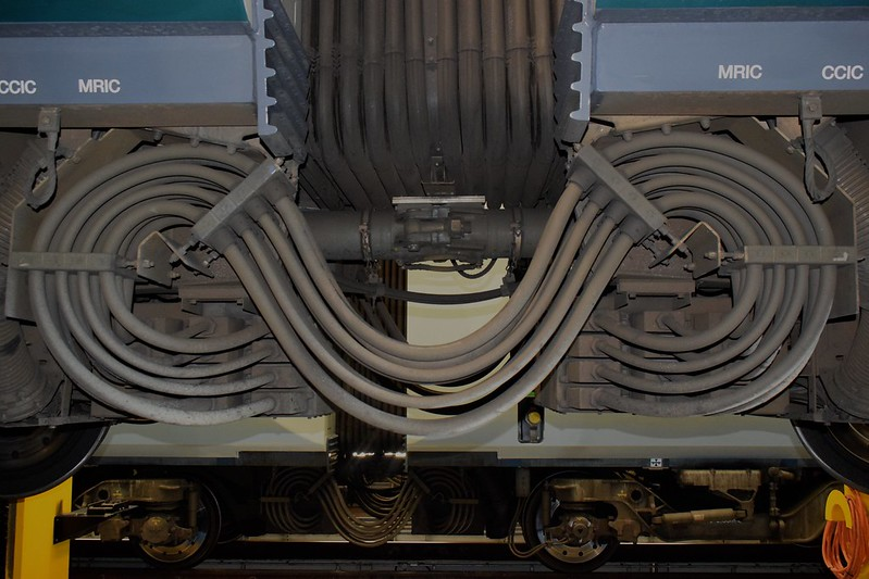 350s at Northampton depot