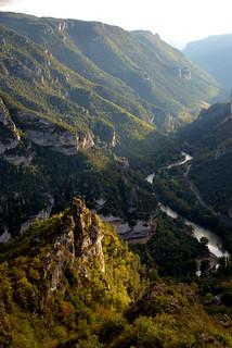 Les Gorges du Tarn depuis le Point Sublime