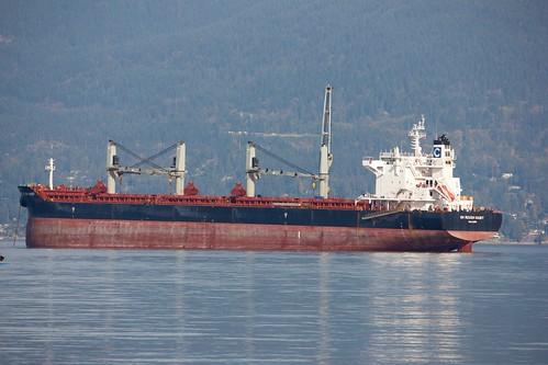 atanchor cargo englishbay ship vancouverbc