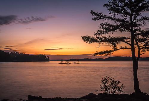 sunrise lakelanier georgia canon eos 70d wide wideangle light